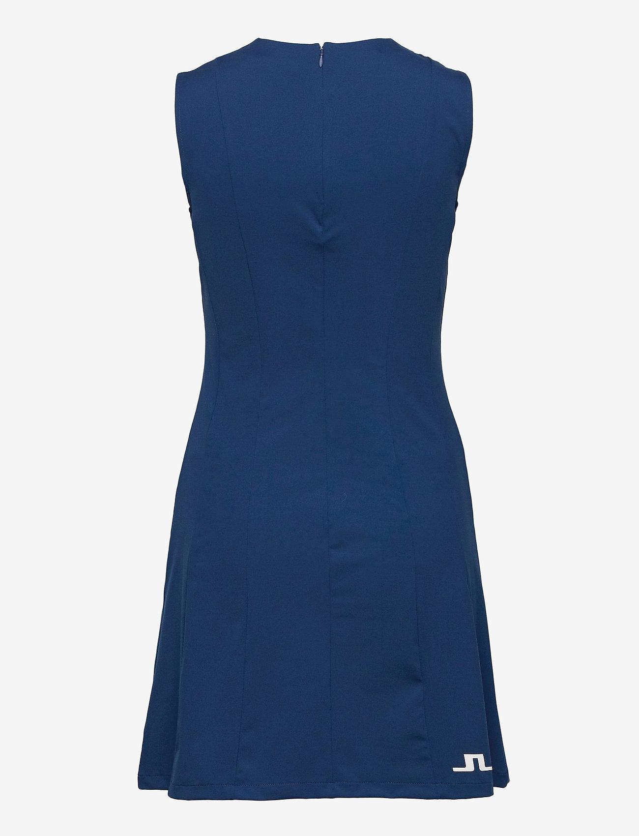 J. Lindeberg Golf - Jasmin Golf Dress - sports dresses - midnight blue - 1