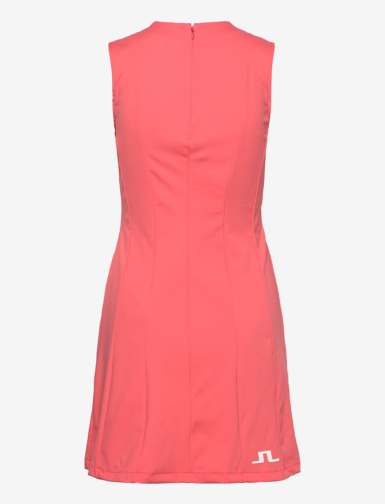 J. Lindeberg Golf - Jasmin Golf Dress - sportieve jurken - tropical coral - 1