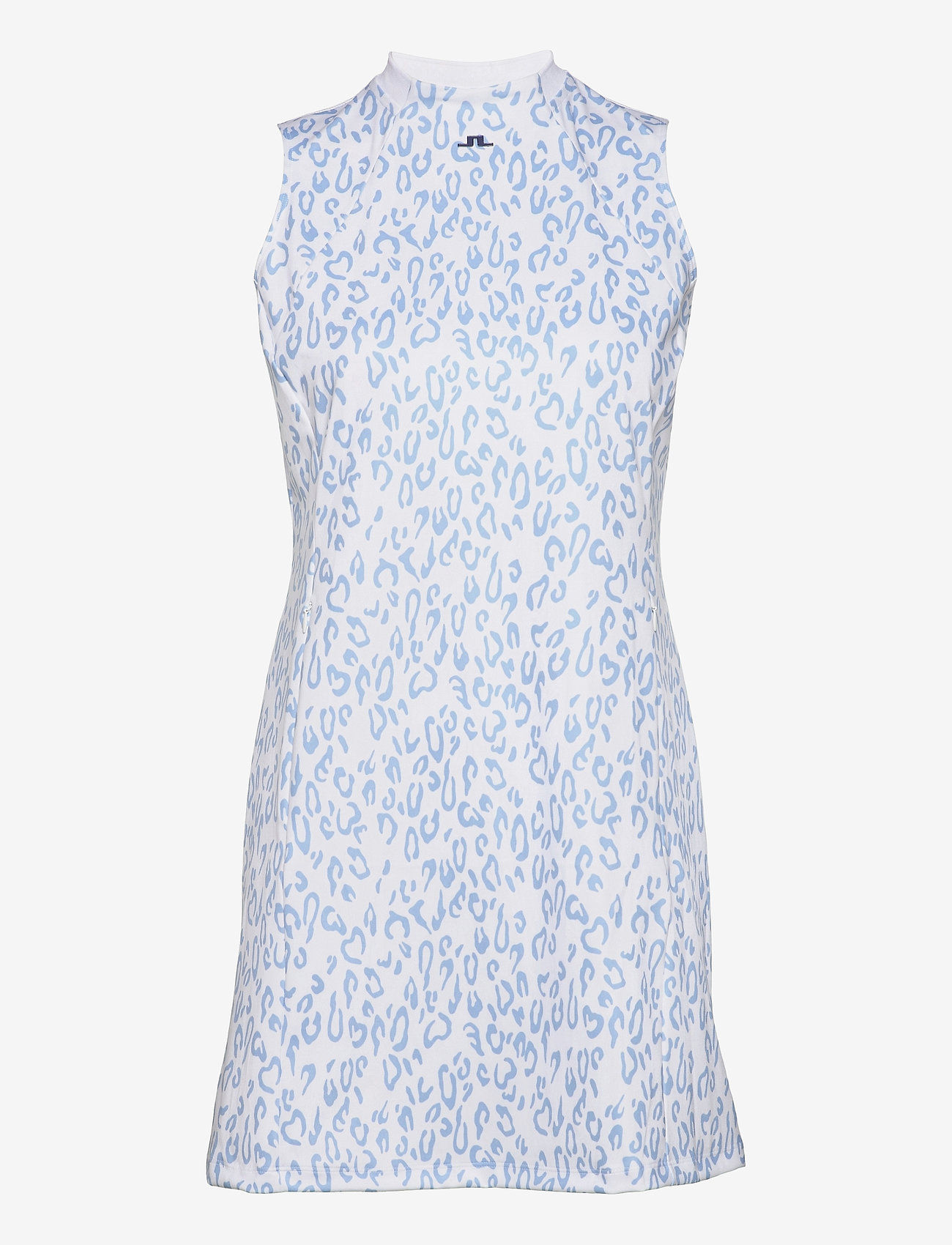 J. Lindeberg Golf - Nena Print Golf Dress - everyday dresses - animal blue white - 1