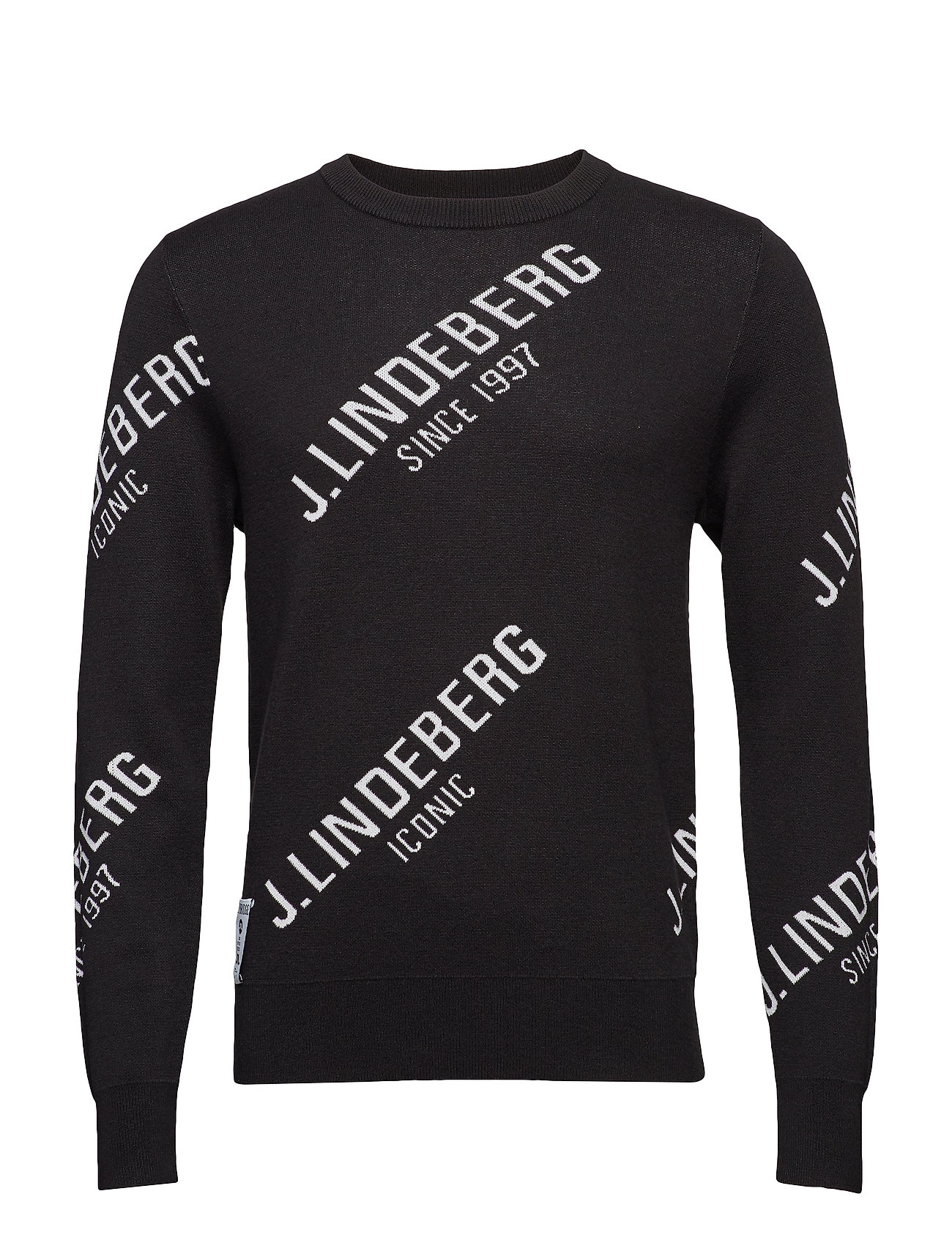 J. Lindeberg Golf M Cason Cotton Coolmax - BLACK