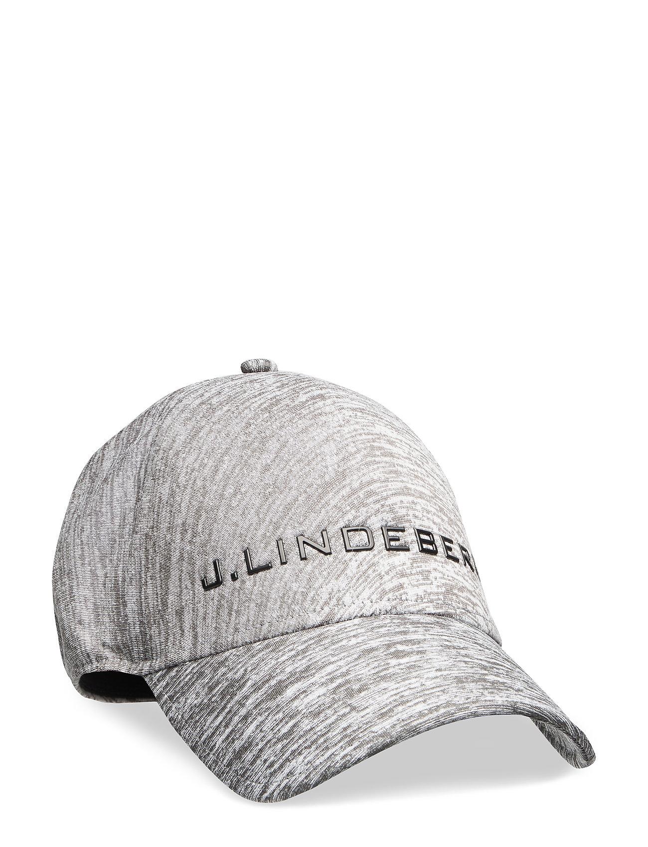 J. Lindeberg Golf Jarryd Melange Seamless Pes - STONE GREY MELANGE