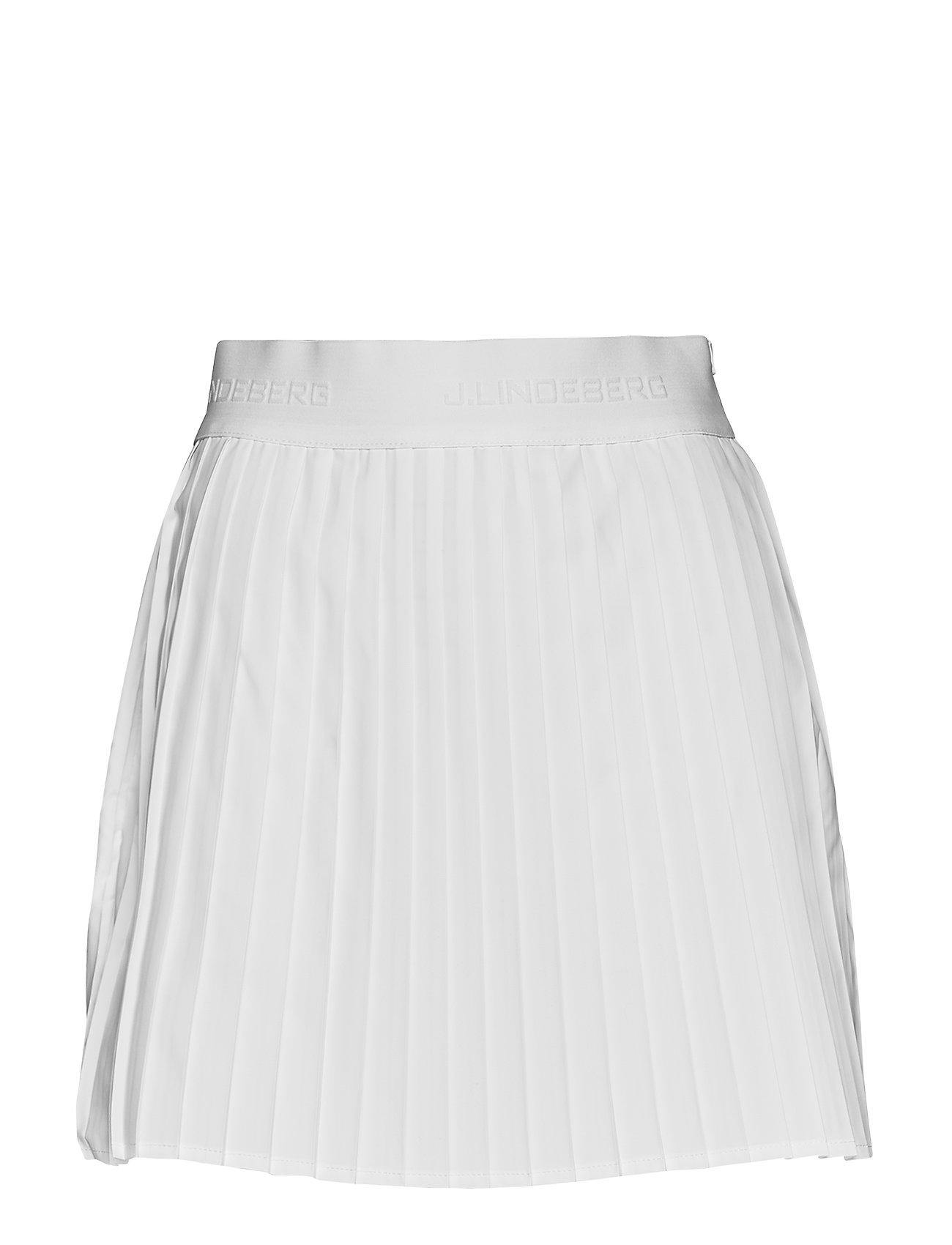 J. Lindeberg Golf W Chloe Skirt Light Poly - WHITE