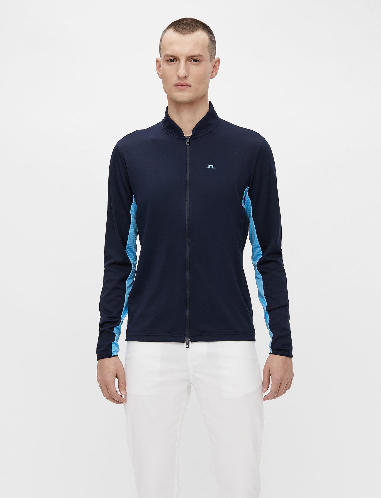 J. Lindeberg Golf - Alex Golf Mid Layer - fleece - jl navy - 0