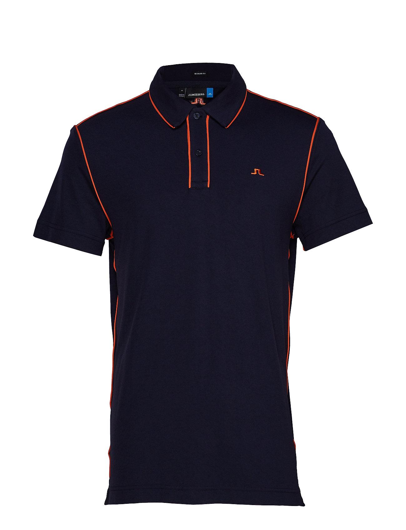 J. Lindeberg Golf Tomi Reg fit-Lux Piquet - JL NAVY