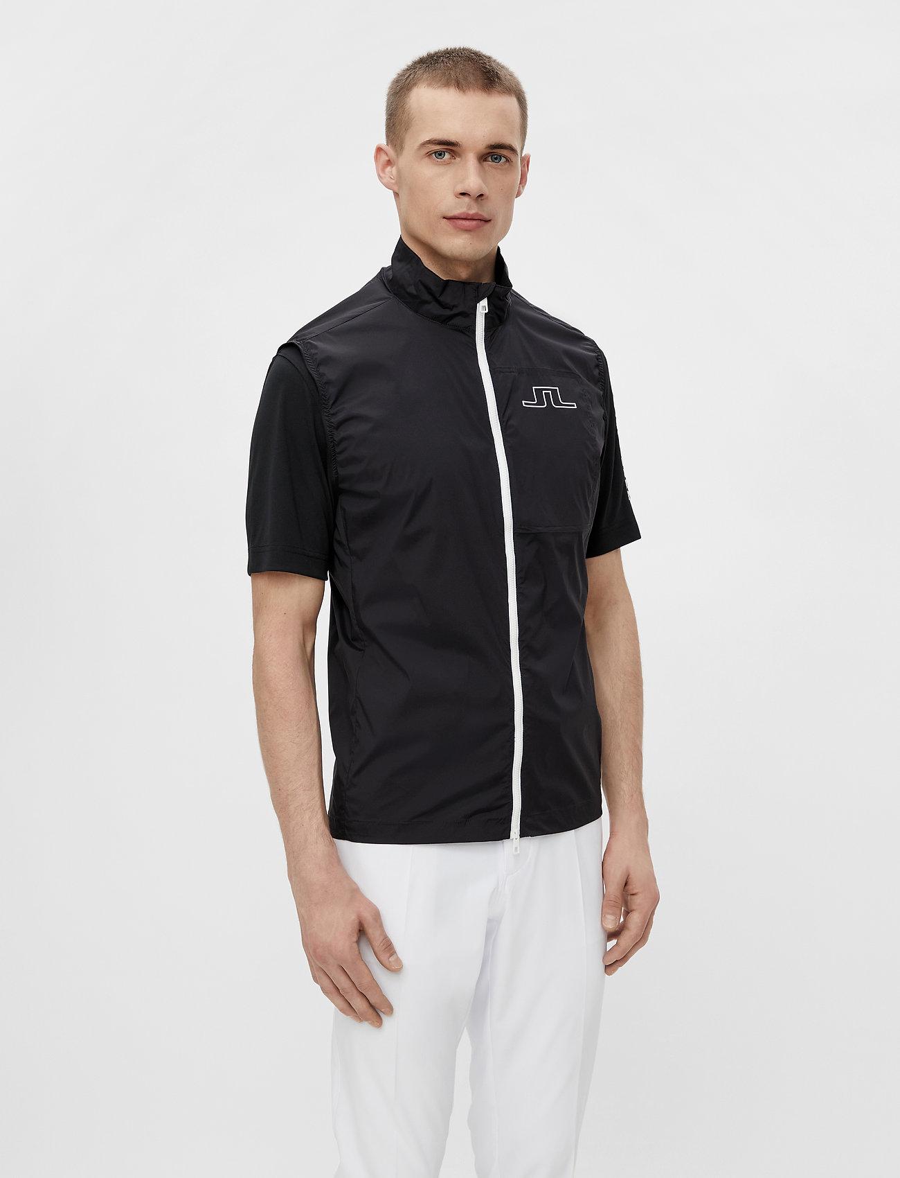 J. Lindeberg Golf - Ash Light Packable Golf Vest - trainingsjacken - black - 0