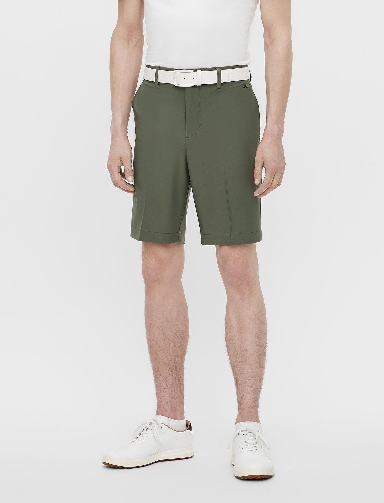 J. Lindeberg Golf - Eloy Golf Shorts - golf-shorts - thyme green - 0