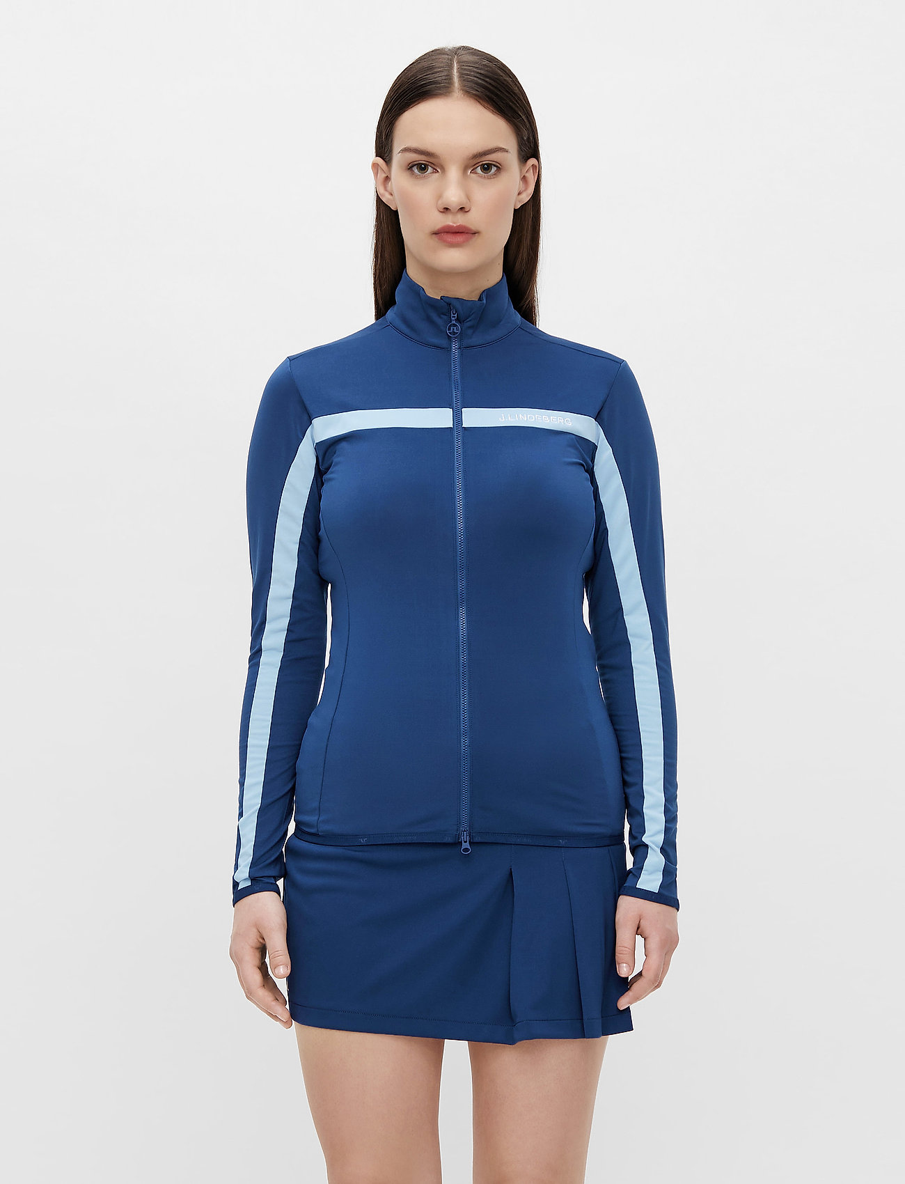 J. Lindeberg Golf - Seasonal Janice Mid Layer - golf jackets - midnight blue - 0