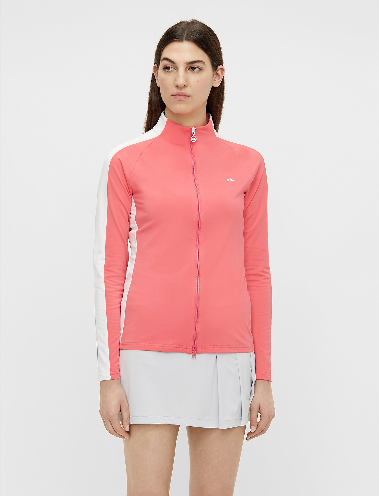 J. Lindeberg Golf - Marie Golf Mid Layer - golf jackets - tropical coral - 0