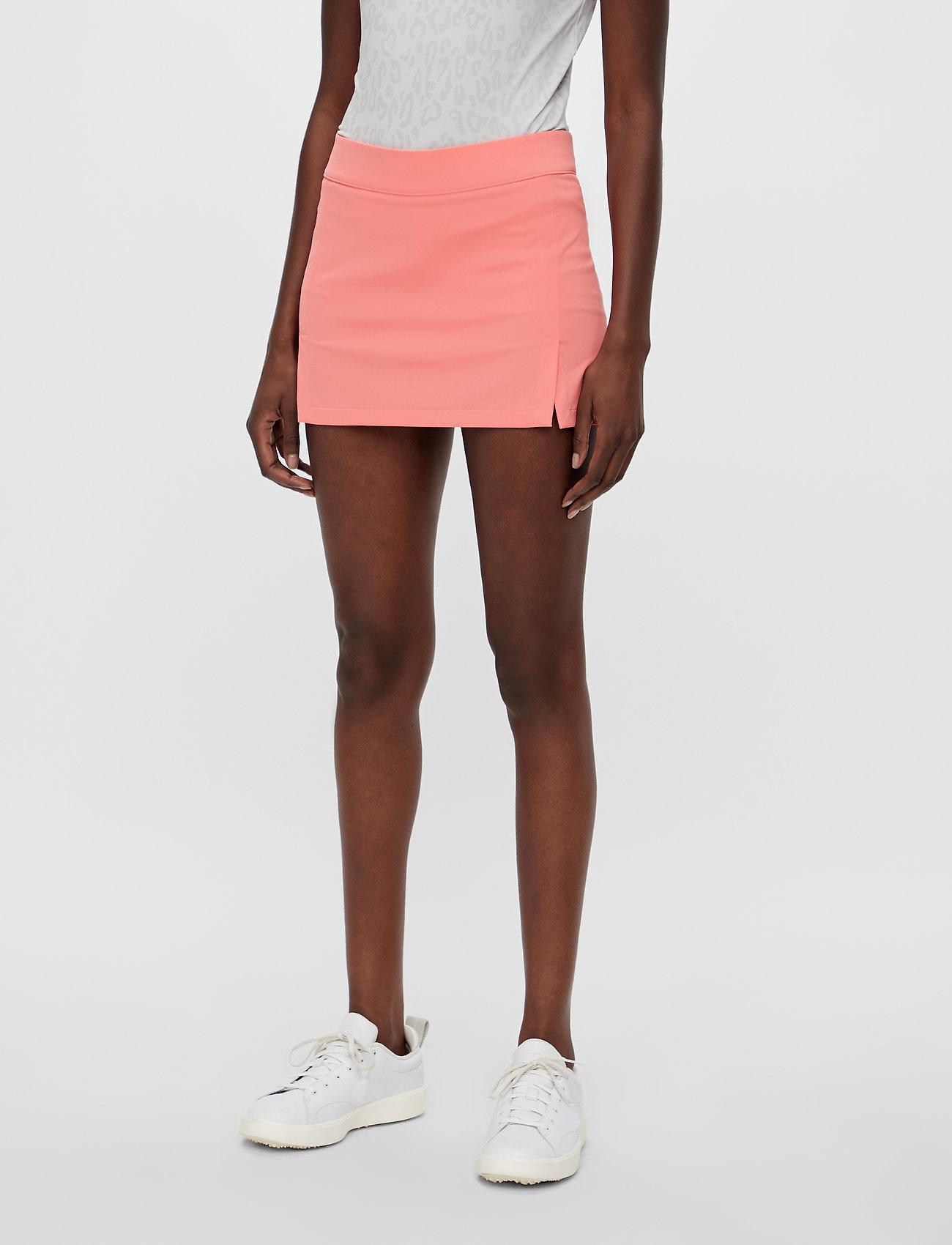 J. Lindeberg Golf - Amelie Golf Skirt - sports skirts - tropical coral - 0