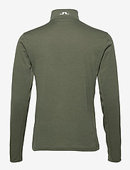 J. Lindeberg Golf - Bran Golf Mid Layer - fleece - thyme green melange - 2