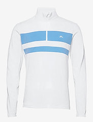 J. Lindeberg Golf - Bran Golf Mid Layer - fleece - white - 1
