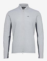 J. Lindeberg Golf - Alex Golf Mid Layer - fleece - stone grey melange - 1
