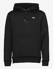 J. Lindeberg Golf - Stretch Fleece Hoody - kapuzenpullover - black - 0