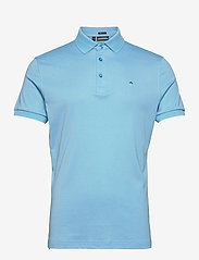 J. Lindeberg Golf - Stan Regular Fit Golf Polo - kurzärmelig - ocean blue melange - 1