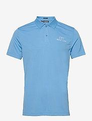 J. Lindeberg Golf - Bridge Regular Fit Golf Polo - kurzärmelig - ocean blue - 1