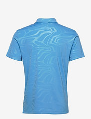 J. Lindeberg Golf - Tony Slim Fit Golf Polo Print - kurzärmelig - neo deboss ocean blue - 2