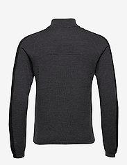 J. Lindeberg Golf - Zam Zipped Golf Sweater - half zip - black melange - 2