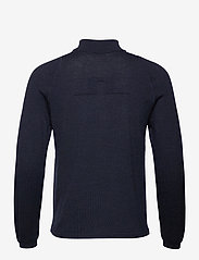J. Lindeberg Golf - Zam Zipped Golf Sweater - half zip - navy melange - 1