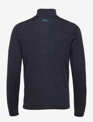 J. Lindeberg Golf - Max Zipped Golf Sweater - half zip - jl navy melange - 2