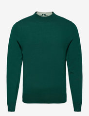 J. Lindeberg Golf - Lawrence Golf Sweater - rund hals - treeline green - 1