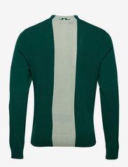 J. Lindeberg Golf - Lawrence Golf Sweater - rund hals - treeline green - 2