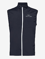J. Lindeberg Golf - Ash Light Packable Golf Vest - trainingsjacken - jl navy - 0