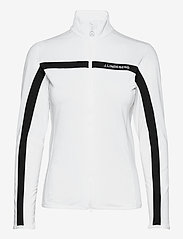 J. Lindeberg Golf - Janice Mid Layer - fleece - white - 1
