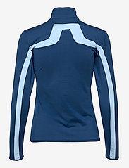 J. Lindeberg Golf - Seasonal Janice Mid Layer - golf jackets - midnight blue - 2