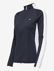 J. Lindeberg Golf - Marie Golf Mid Layer - golf jackets - jl navy - 3