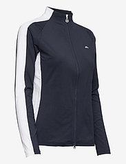 J. Lindeberg Golf - Marie Golf Mid Layer - golf jackets - jl navy - 4