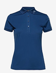 J. Lindeberg Golf - Tour Tech Golf Polo - polos - midnight blue - 1