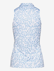 J. Lindeberg Golf - Dena Sleeveless Golf top Print - tank tops - animal blue white - 2