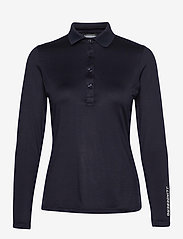 J. Lindeberg Golf - Tour Tech LS Golf Polo - polos - jl navy - 1