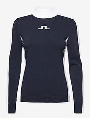 J. Lindeberg Golf - Adia Golf Sweater - jumpers - jl navy - 0