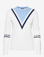 J. Lindeberg Golf - Stina Golf Sweater - gebreid - white - 1