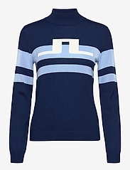 J. Lindeberg Golf - Rosa Golf Sweater - turtlenecks - midnight blue - 1