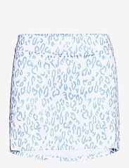 J. Lindeberg Golf - Amelie Golf Skirt Print - sports skirts - animal blue white - 1