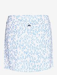 J. Lindeberg Golf - Amelie Golf Skirt Print - sports skirts - animal blue white - 2