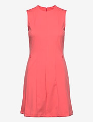 J. Lindeberg Golf - Jasmin Golf Dress - sportieve jurken - tropical coral - 0