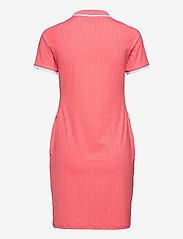 J. Lindeberg Golf - April Golf Dress - t-shirt dresses - tropical coral - 2