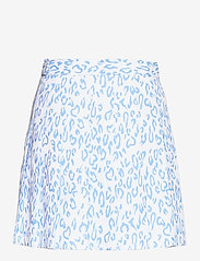 J. Lindeberg Golf - Adina Printed Golf Skirt - sports skirts - animal blue white - 2