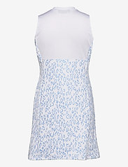 J. Lindeberg Golf - Nena Print Golf Dress - everyday dresses - animal blue white - 2