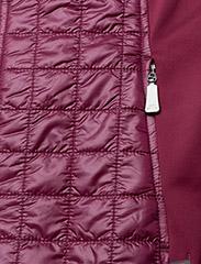 J. Lindeberg Golf - W Bona Hybrid Vest Pertex Q - golfjakker - dk pink/purple - 3