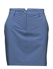 W Allie Skirt Micro Stretch - SILENT BLUE