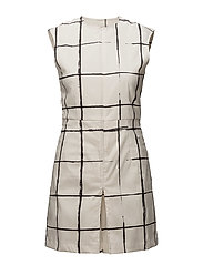 W Cloe Dress Schoeller 3XDry - INVERTED WINDOW PANE