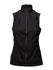 W Sally Vest Stretch Wind Pro - BLACK