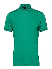 M TOUR TECH SLIM FIT TX JERSEY - GOLF GREEN