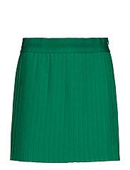 W Chloe Skirt Light Poly - GOLF GREEN