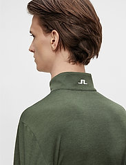J. Lindeberg Golf - Bran Golf Mid Layer - fleece - thyme green melange - 6