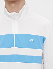 J. Lindeberg Golf - Bran Golf Mid Layer - fleece - white - 5